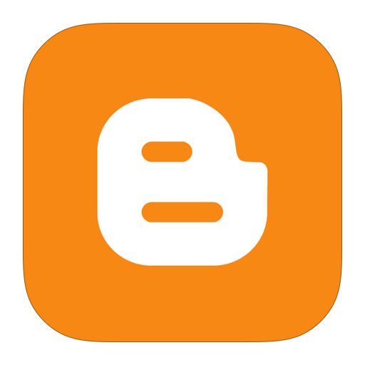 blogger png ORANGE